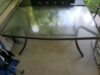 Outdoor glass table with 6 chairs Berea, 44017