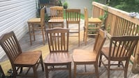 4 Barstools and 4  Chairs Sterling, 20164