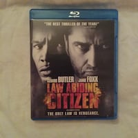 Law Abiding Citizen Blu-ray disc case Ontario, M2M 1J7