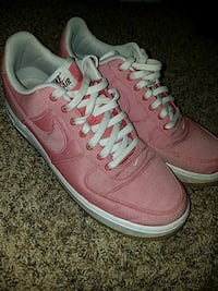 Size 10 Game Red Air Force 1's