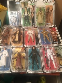 Complete 40th anniversary Star Wars collectable set Barrie, L4N 1R7