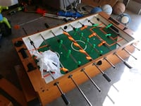 green and brown foosball table Nashville, 37211