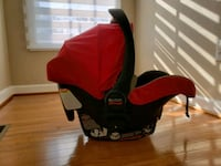 Britax infan  red and black car seat carrier Elkridge, 21075