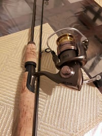"""""""BROWNING STALKER GOLD REEL AND ROD COMBO"""