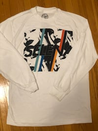 White Graphic Long Sleeve