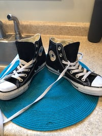 Black and white converse in excellent condition Woburn, 01801