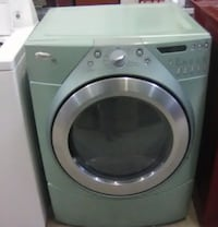 Whirlpool Duet Teal Front Load Dryer