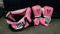 Title boxing set - gloves,  bag and hand wraps