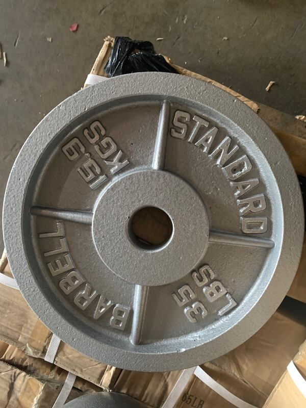 Olympic plates cast iron and bumper 04e97407-9b5e-4a0c-9893-56d1d6da5c26