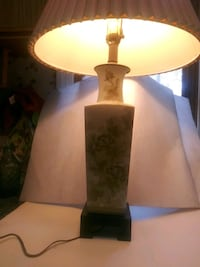 Asian Floral Square table lamp Deptford Township, 08096
