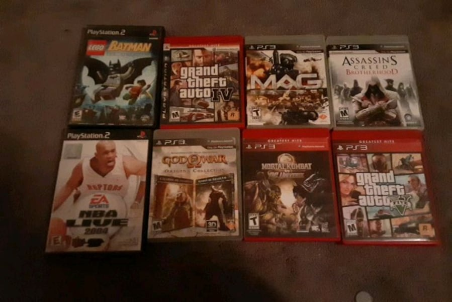 console game $5 each 246cc717-241f-43d9-b5cd-eae75885d5f5