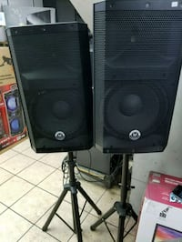"""Double professional DJ speakers 12"""" amplified . Los Angeles, 90013"""