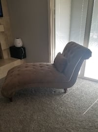 taupe/tan color chaise lounge