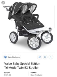 Valco double stroller MUST GO!  Simi Valley, 93065