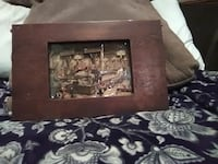 brown wooden framed painting Topeka, 66610