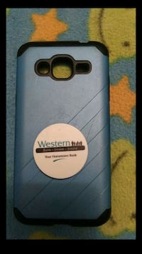 Aqua colored with popup attached&black phone case Casa Grande, 85122