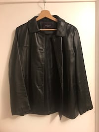 Original leather coat for women Size M  North Vancouver, V7N 3A7