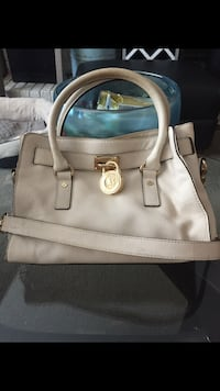 Authentic Michael Kors Hamilton Leather Satchel - Vanilla Richmond, V7A 1N5