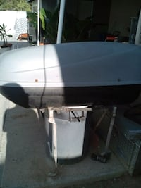 white and black outboard motor San Diego, 92114