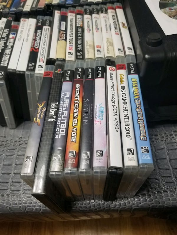 1$ EACH - 60+ Assorted Video Games!  3