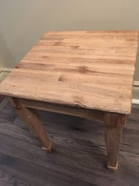 Wood Side Table Toronto, M2N 4N4