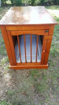 Wooden dog crate