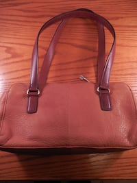 women's brown leather tote bag Toronto