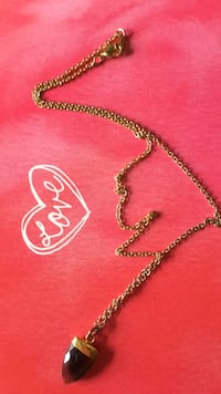 silver-colored chain necklace with heart pendant Northbrook