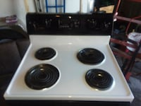 white and black Whirlpool electric stove Altoona