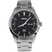 SEIKO Solar Powered 100M Men's Watch NO BOX Calgary