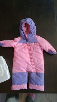 baby's pink and purple footie Spruce Grove, T7X 0B9