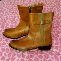 Like NEW Brown Leather Harley-Davidson Boots  Greenwood