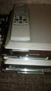 gray Panasonic DVD player with remote Kennewick, 99336