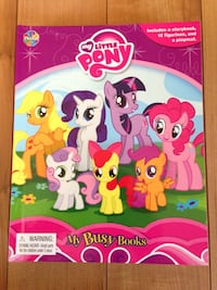 My Little Pony Playset Book - $10 (Port Moody)  Port Moody, V3H