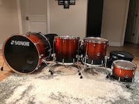 Sonor Force 3007 drum set Keswick, L4P 0B9