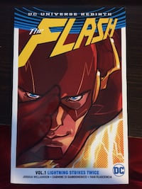 The Flash comic book