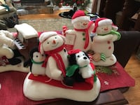 8 Musical Caroling Hallmark Snowman, $40 for all 8 or $10 each Shelton, 06484
