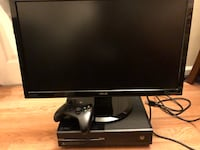 """Asus VH236HL-P 23"""" 2ms and Xbox one with controller"""