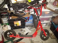 red and black BMX bike Delta, V4C 3C3
