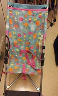 baby's pink and blue bouncer Woodbridge, 22191