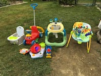 Baby equipment. Make an offer on one or all. Georgetown, 01833