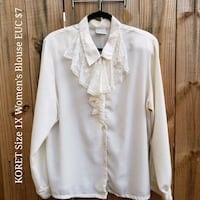 white button-up long-sleeved shirt 353 mi