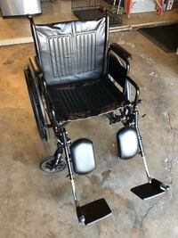 Drive wheelchair with detachable footrests in new condition  Bakersfield, 93309