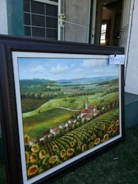 brown wooden framed painting of house Manteca, 95337