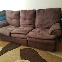 Reclining sofa and sectional piece  Toronto, M1R 1R4