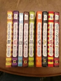 Diary of a wimpy kid by jeff kinney book collectio Rio Rancho, 87124