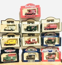 10 Days-gone Vintage Limited editions Die Cast Model Cars.
