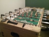 brown and teal foosball table Grove City, 43123