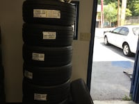 five set of auto tires