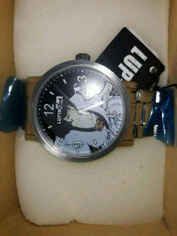 Orologio Lupin 3rd argento